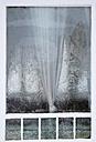 Austria, Window with ice crystal - WW002630