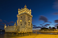 Portugal, Lisbon, View of Belem Tower - FO004702