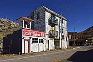 USA, Nevada, View of firehouse of  Pioche - ES000232