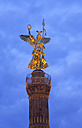Germany, Berlin, View of victory column against sky - ALE000004