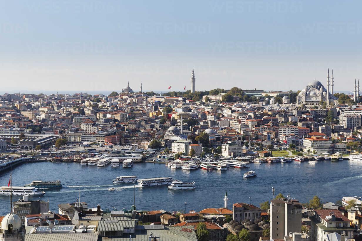 Turkey, Istanbul, View from Galata Tower to Golden Horn - SIEF003405 - Martin Siepmann/Westend61