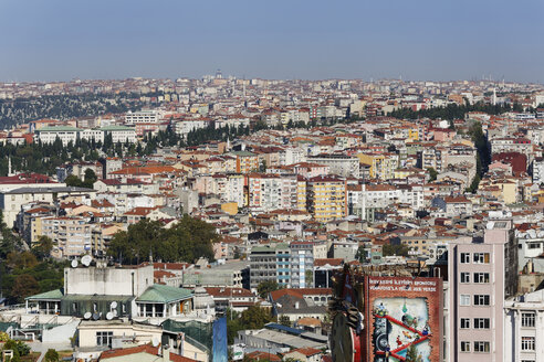 Turkey, Istanbul, View from Galata Tower - SIE003408