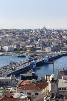 Turkey, Istanbul, View from Galata Tower - SIEF003411