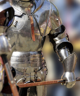Germany, Model of armored knight, close up - HOH000068