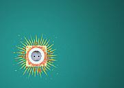 Illustration of sun over socket - ALF000035