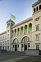 Germany, Berlin, Main Entrance of Hamburger Bahnhof Museum - TK000001