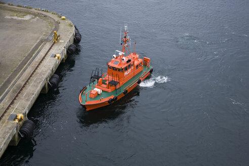 Sweden, Pilot ship in harbour at Helsingborg - DIS000050