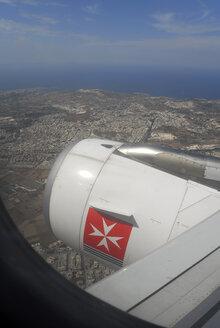 Malta, Flying  Air Malta aeroplane - MIZ000262