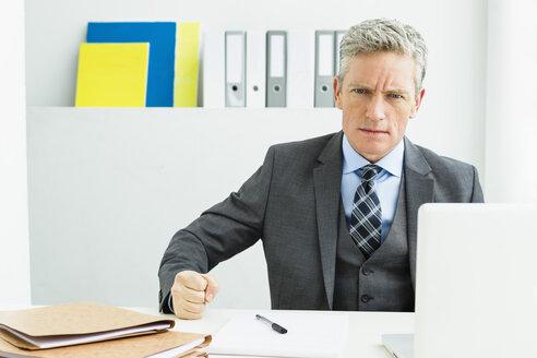 Germany, Portrait of businessman - SPO000192