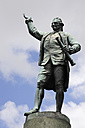 Australia, New South Wales, Sydney, Statue of captain cook at hyde park - MIZ000292