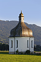 Austria, Vorarlberg, View of St Anne's Chapel at Bregenz Forest - SIE003560
