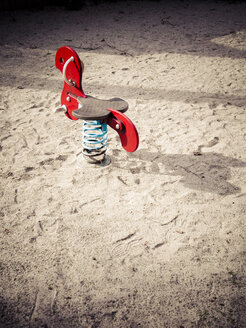 Germany, Munich, Empty playground - LF000486