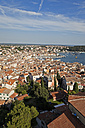 Croatia, View from Sv Eufemija Church on old town of Rovinj - MS002888