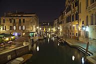 Italy, Venice, View of canal at Campo dei Tolentini in Dorsoduro - HSI000281