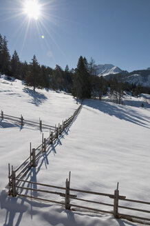 Austria, View of Tannheim Alps - UMF000617