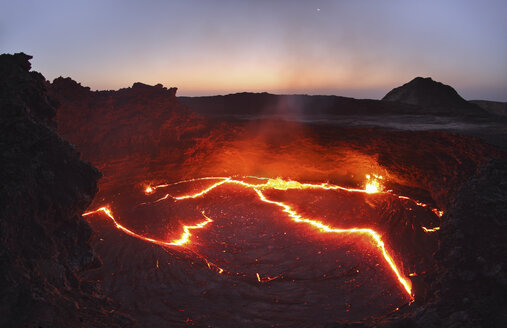 Ethiopia, View of lava at Erta Ale - MR001316