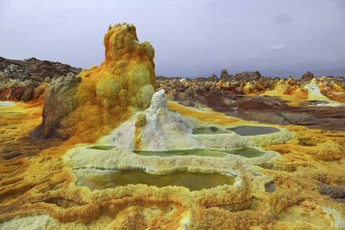 Ethiopia, View of geothermal site Dallol - MR001342