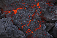 Iceland, View of lava from Eyjafjallajokull Fimmforduhals, 2010 - MR001372