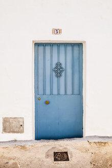Spain, Wooden door, close up - WVF000351