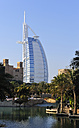 United Arab Emirates, Dubai, View of Burj al Arab Hotel - LH000053