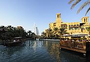United Arab Emirates, Dubai, View of Burj al Arab hotel - LH000055