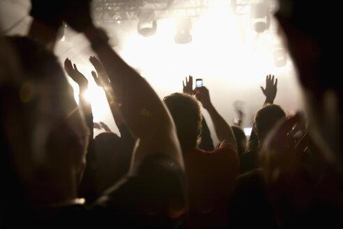 Germany, Wuerzburg, Crowd at Deichkind concert - ND000374