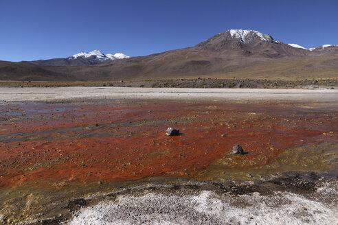 Chile, View Tatio Geyser field - RM000495
