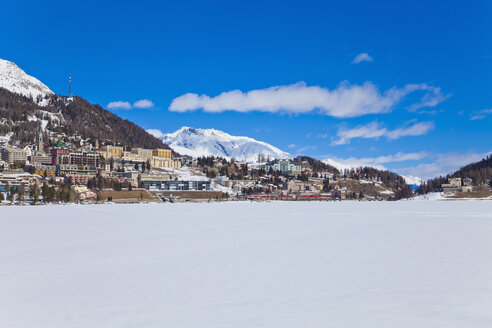 Switzerland, View of St Moritz townscape - WDF001704