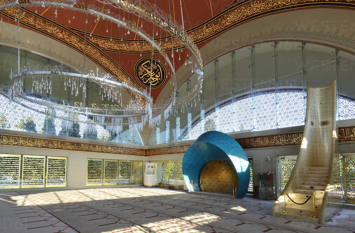 Turkey, Istanbul, Interior of Sakirin mosque at Uskudar - LH000072 - Hans Lippert/Westend61