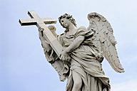 Italy, Rome, Statue of Ponte Sant'Angelo - MIZ000311