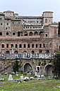 Italy, Rome, View of Trajan's Forum - MIZ000338