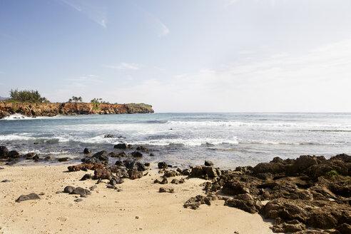 USA, Hawaii, View of beach shore - SKF001265