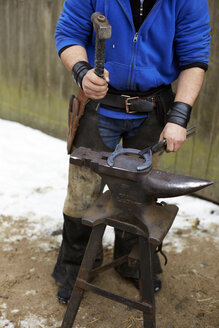 Germany, Blacksmith at work - TK000113