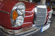 Germany, Bavaria, Mercedes-Benz 300 W111 car, close up - HA000039
