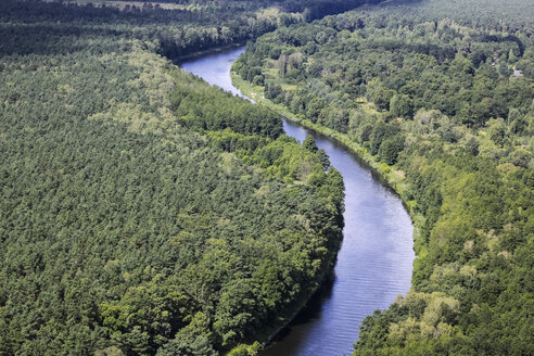 Germany, View of forest and river - FBF000042