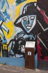 Germany, Berlin, Mural painting of East Side Gallery - CB000038