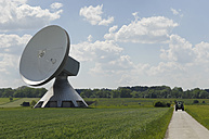 Germany, Bavaria, View of Satellite dish at Raisting - CR002412