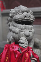 China, Shanghai, Sculpture with ribbons - KSW001059