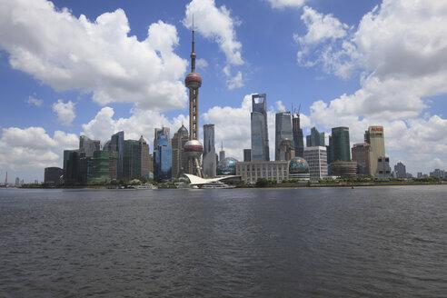 China, Shanghai, View of Shanghai World Financial Center - KSW001053
