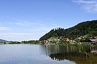 Germany, Bavaria, View of Lake Hopfensee - LH000121