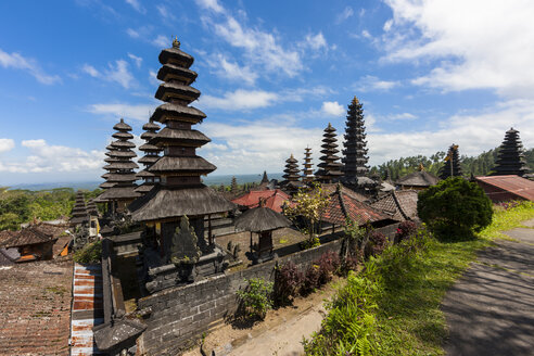 Indonesia, View of Pura Penataran Agung temple - AMF000036