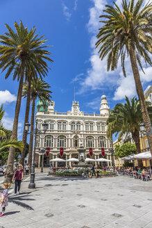 Spain, Gran Canaria, Las Palmas, View of Gabinete Literario - MAB000039