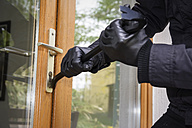 Germany, North Rhine Westphalia, Burglary opening door - ON000190