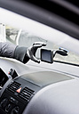 Germany, North Rhine Westphalia, Burglary breaking into car and stealing satnav system - ONF000193