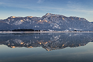 Germany, Bavaria, View of Forggensee lake - ELF000077