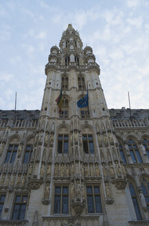 Belgium, Brussels, View of Brussels City hall - MH000182