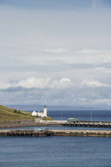 United Kingdom, Scotland, View of lighthouse from scrabster - EL000120