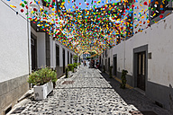 Portugal, Decorated streets in Ribeira Brava - AM000116