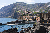 Portugal, View of Camara de Lobos near Funchal - AMF000199