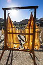 Portugal, Stockfish for drying at Camara de Lobos near Funchal - AMF000203